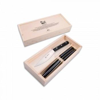 4 couteaux de table Berti Valdichiana exclusivement pour Viadurini - Aldino