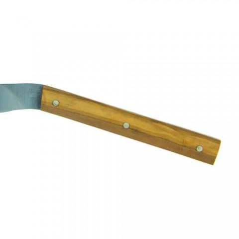 6 couteaux à steak ergonomiques avec lame en acier fabriqués en Italie - Shark
