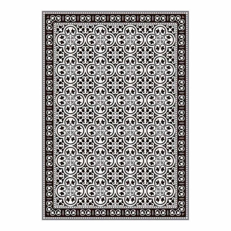 6 sets de table à motifs américains en PVC et polyester lavable - Lindia