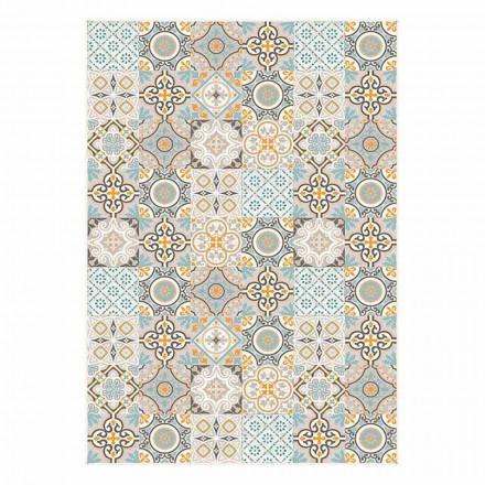 6 sets de table américains à motifs rectangulaires élégants - Frisca