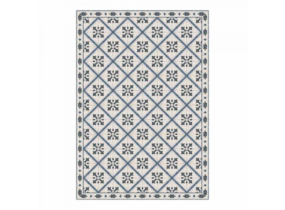 6 sets de table rectangulaires en pvc et polyester à motifs - Berimo