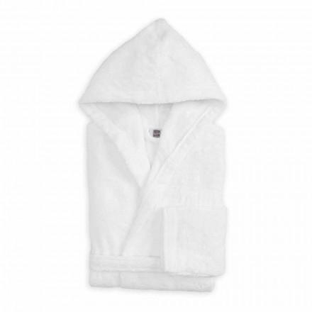 Peignoir de couleur de luxe avec capuche en coton éponge - Vuitton
