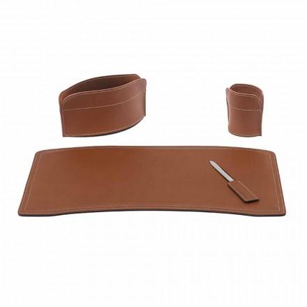 Accessoires Bureau en cuir régénéré Made in Italy - Brando