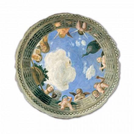 Fresque Oculus du plafond de Andrea Mantegna