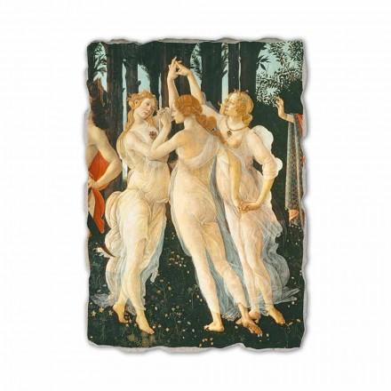 Le Printemps de Botticelli, peinture à fresque (détail)