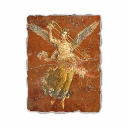 Fresque Les muses, art romain (détail)