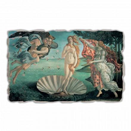 La Naissance de Vénus de Botticelli, peinture à fresque