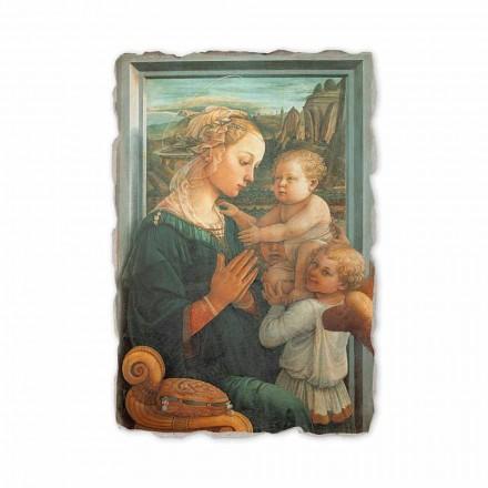 Fresque La Lippina de Filippo Lippi, peinte à la main