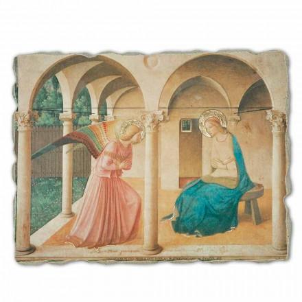 Fresque grande L'Annonciation du couvent San Marco de Fra Angelico