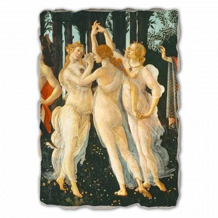 Fresque grande Le Printemps de Botticelli (détail)