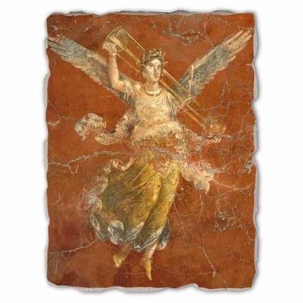 Fresque grande Les muses, art romain (détail)