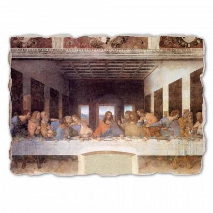 Fresque grande La Cène de Léonard de Vinci, peinte à la main