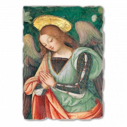 Fresque grande Natività de Pinturicchio (détail de l'Ange)
