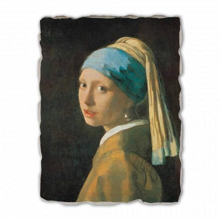 Fresque grande La Jeune Fille à la perle de Vermeer