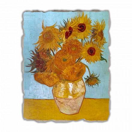 Fresque grande Les Tournesols de Van Gogh