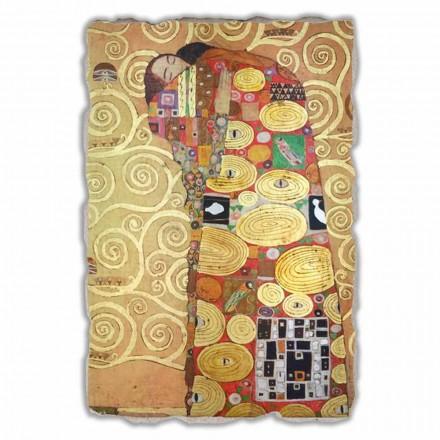 Fresque grande L'Accomplissement de G. Klimt