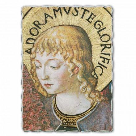 Fresque grande Anges en adoration de Benozzo Gozzoli (détail)