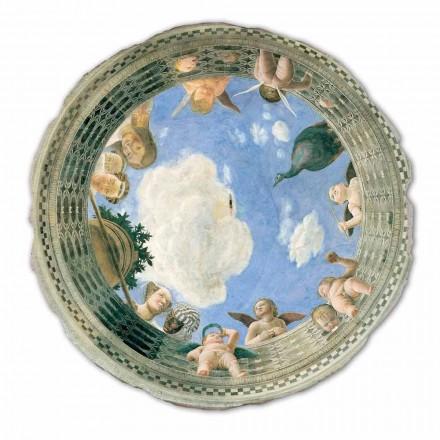 Fresque grande Oculus du plafond de Andrea Mantegna