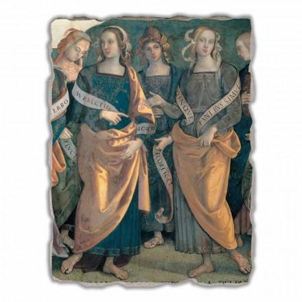Fresque grande Eterno tra Angeli, Profeti e Sibille de Pérugin