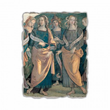 Fresque Eterno tra Angeli, Profeti e Sibille de Pérugin