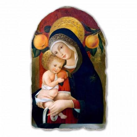 Fresque La Vierge et l'Enfant de Carlo Crivelli