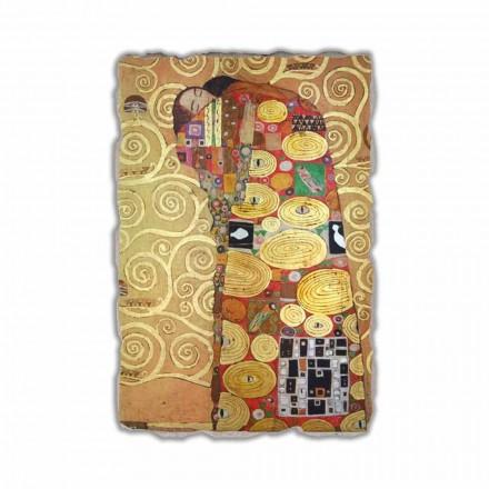 Fresque L'Accomplissement de G. Klimt