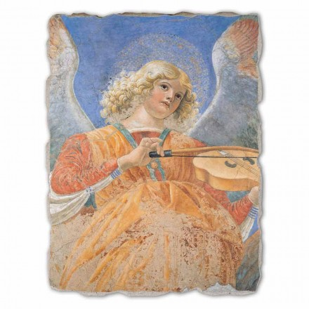 Fresque grande Ange musicien de Melozzo da Forlì