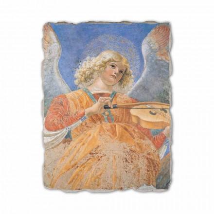 Fresque Ange musicien de Melozzo da Forlì