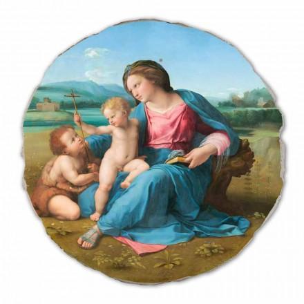 Fresque La Madone d'Alba de Raphaël