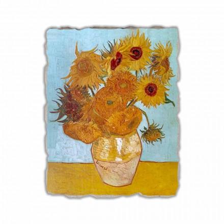 Peinture à fresque Les Tournesols de Van Gogh