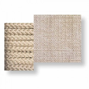 Balançoire de jardin design moderne en tissu et corde - Cliff by Talenti