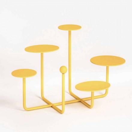 Présentoir à bonbons design en acier peint fabriqué en Italie - Pennellope