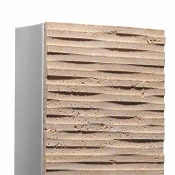 Applique en pierre et métal Serafini Marmi Pedra made in Italy