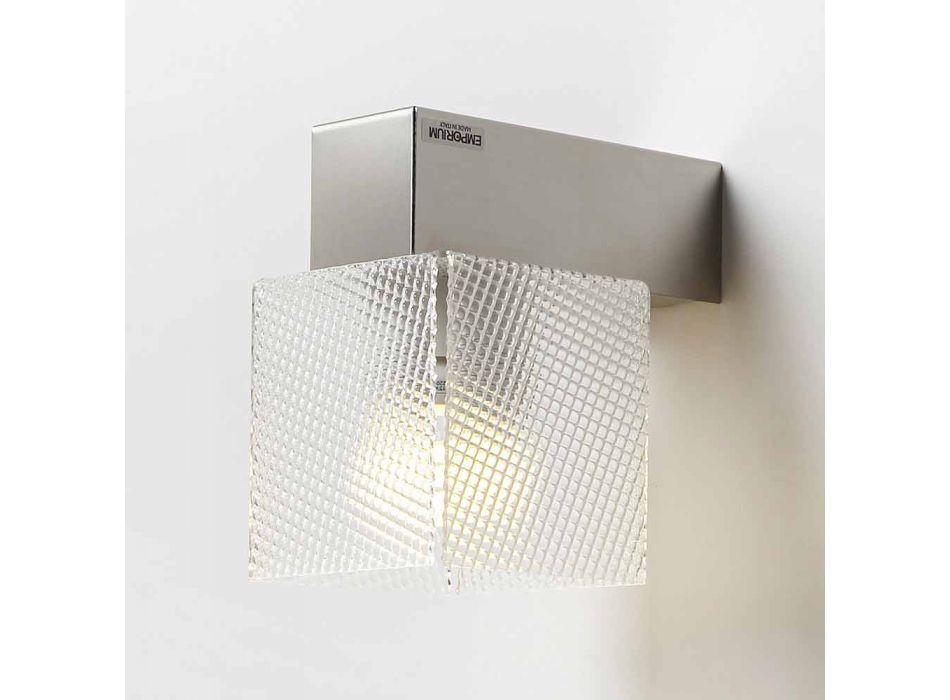 Lampe abat-jour design moderne, L.11 x P.11cm, Matis