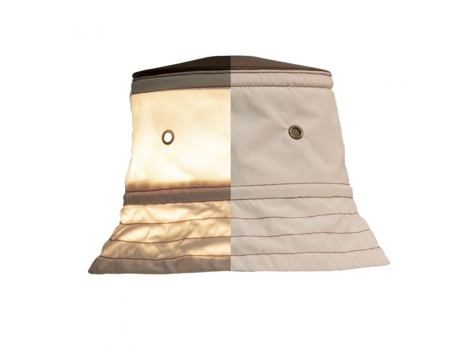 Applique d'extérieur avec abat-jour en polyester Made in Italy - Toscot Junction