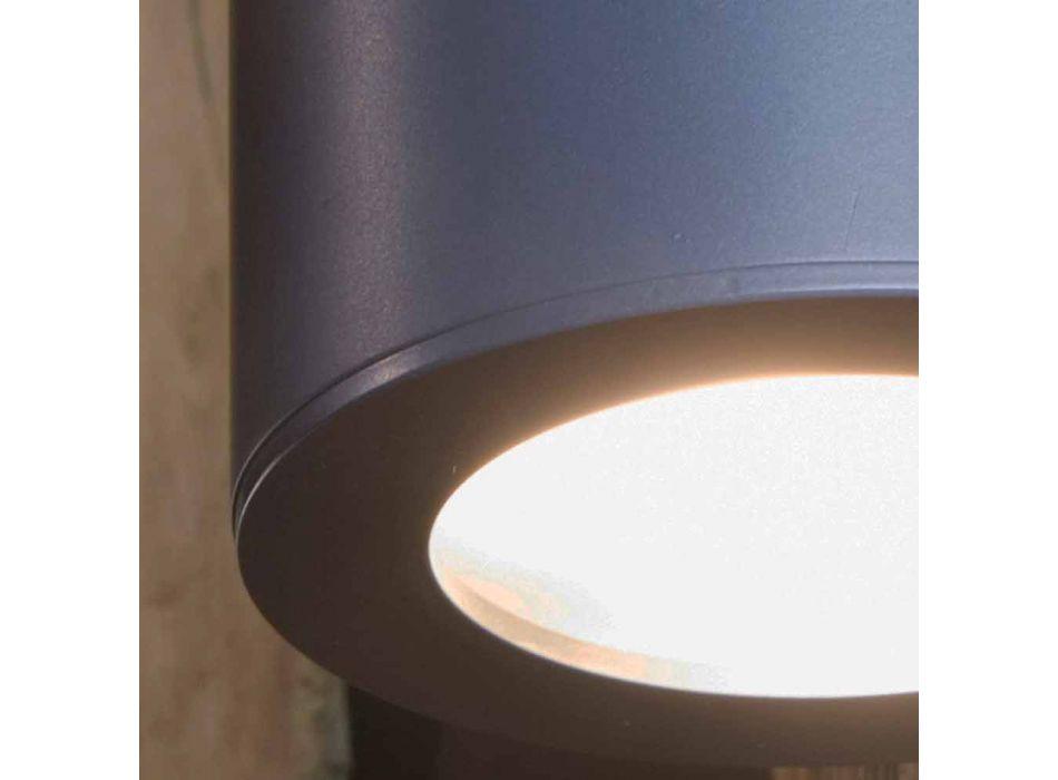 Applique d'extérieur en fer et aluminium avec LED incluse Made in Italy - Rango