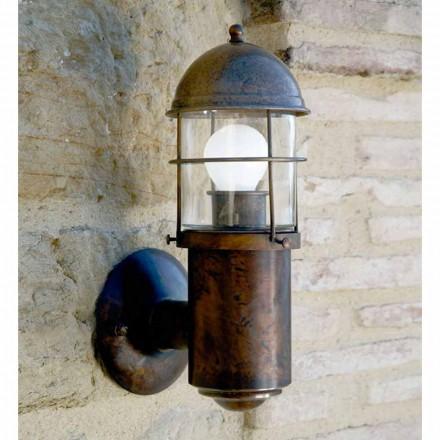 Applique pour extérieurs en laiton et cuivre Attila