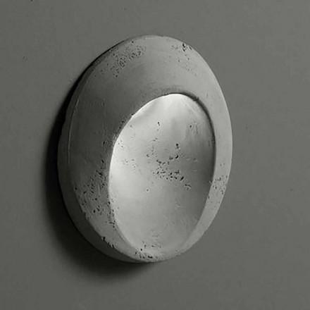 Applique d'extérieur ovale en argile colorée Ovale - Toscot