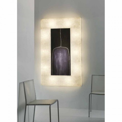 Applique murale moderne In-es.artdesign Lunar Bottle 2 in nebulite
