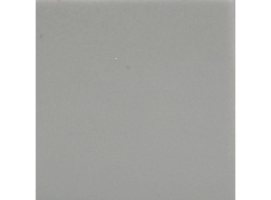Applique en Céramique et Aluminium Fabriquée à la Main en Italie - Toscot Clover
