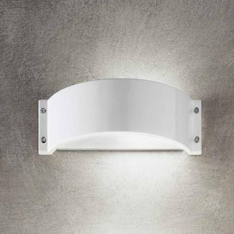 Grès de mur en céramique blanche Glamour Aldo Bernardi