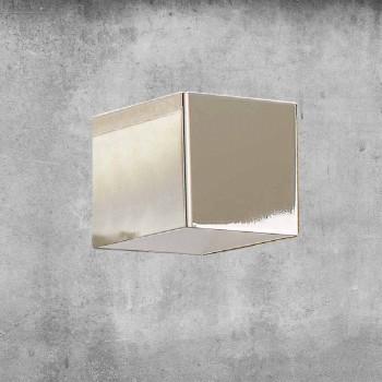 Applique en laiton et gypse Made in Italy - Cubetto Aldo Bernardi