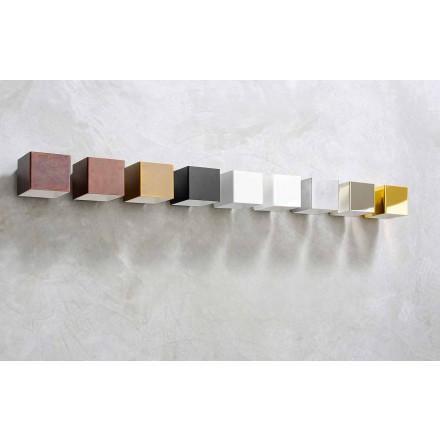Applique LED en Laiton et Plâtre Made in Italy – Cubetto Aldo Bernardi