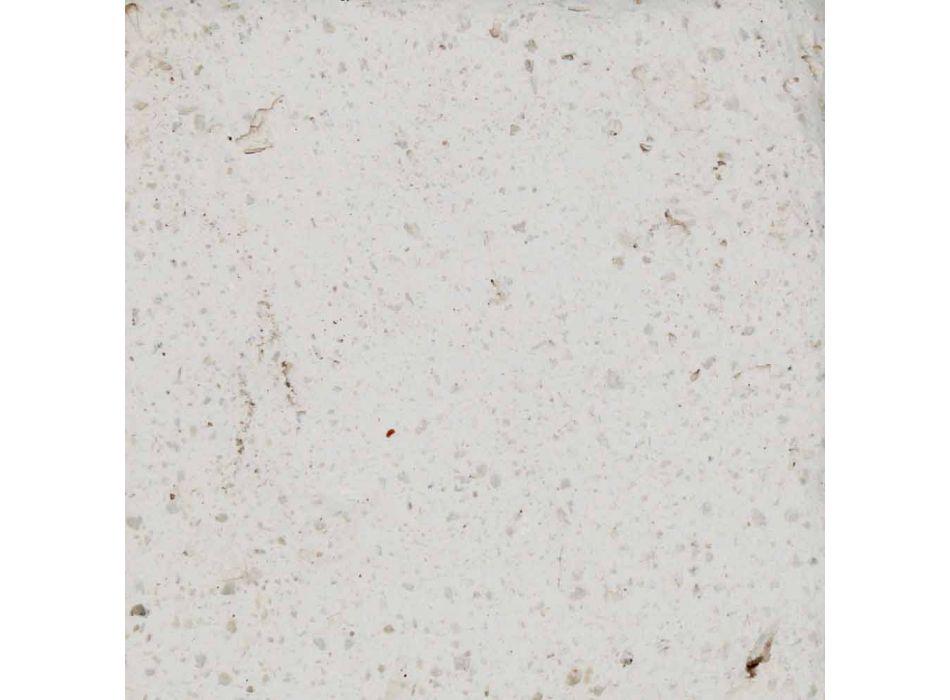 Smith - Applique murale d'extérieur LED Toscot en faïence design H 24 cm