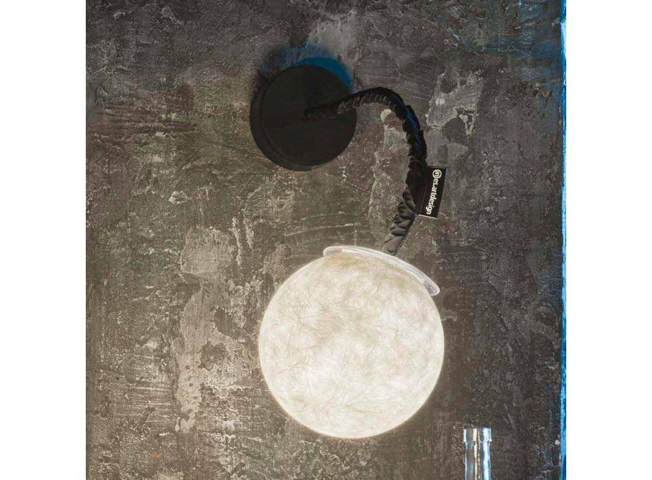 Applique murale contemporaine In-es.artdesign Applique murale Micro Luna Nebulite