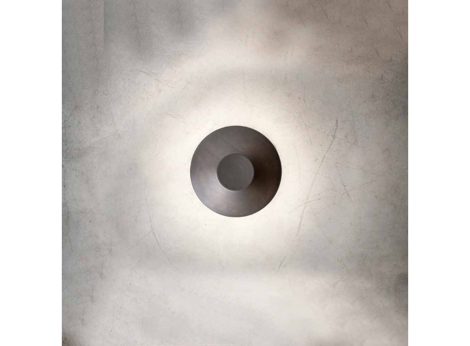 Applique murale d'extérieur moderne en cuivre Made in Italy - Pasdedeux Aldo Bernardi