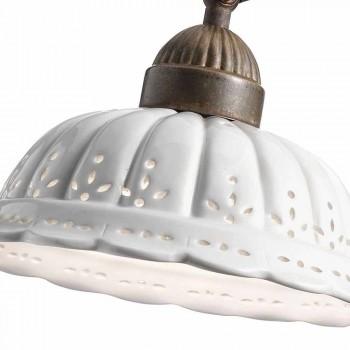 Applique Art nouveau à Bassano Anita céramique Il Fanale