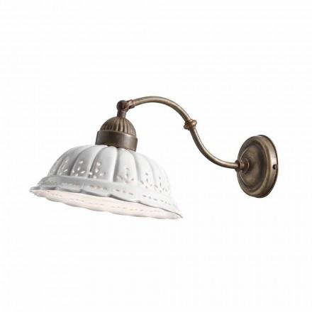 Applique en céramique de style rustique Anita Il Fanale