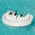 Bar flottant pour piscine Trona de design moderne, fait en Italie