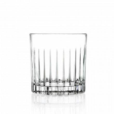 Lowball Tumbler Basso Old Fashioned Glasses pour Cockatil 12 Pièces - Senzatempo